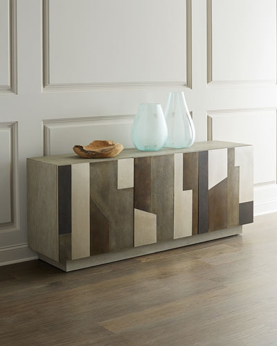 Smithson Metal Overlay Console