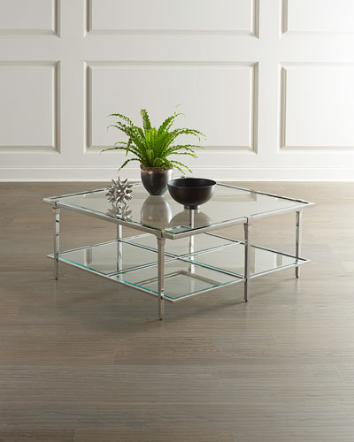 Napier Square Glass Coffee Table