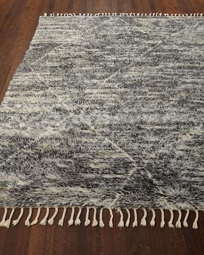 Reanna Hand-Knotted Shag Rug, 9' x 12'