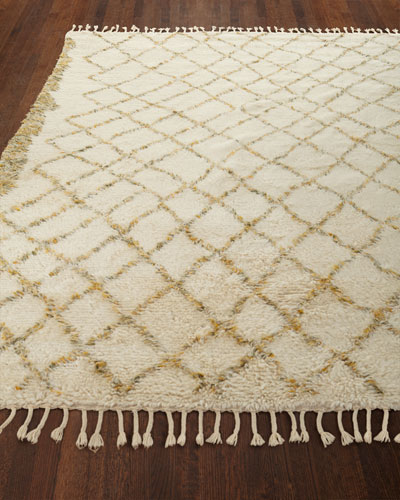 Sachi Hand-Knotted Rug, 5.6' x 8'