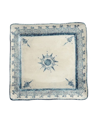 Burano Large Square Platter