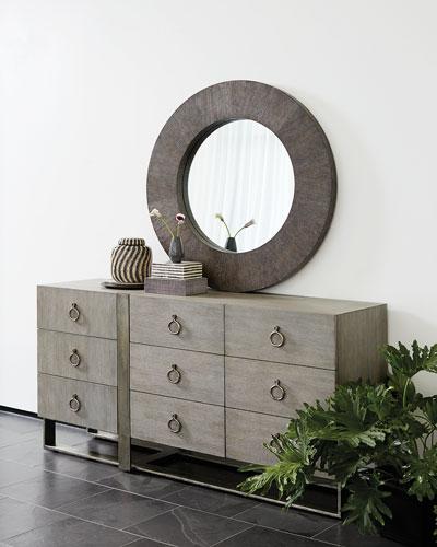 Linea Round Mirror