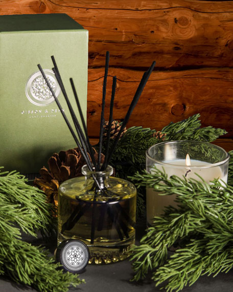 Image 3 of 3: Gibson & Dehn Norway Spruce Single Wick Candle, 8 oz. / 227g
