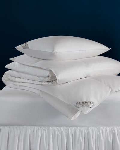 600-Fill European Down Soft King Pillow
