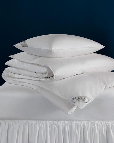600-Fill European Down Continental Square Pillow