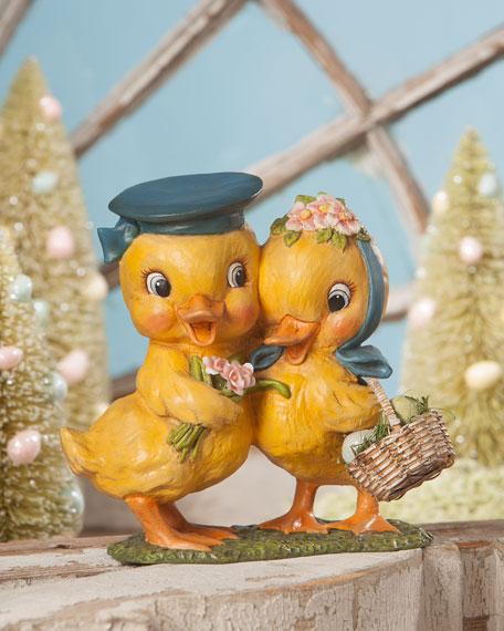 "Chick & Dee Easter Figurine, 7"""