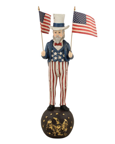 Uncle Sam Figurine  12T