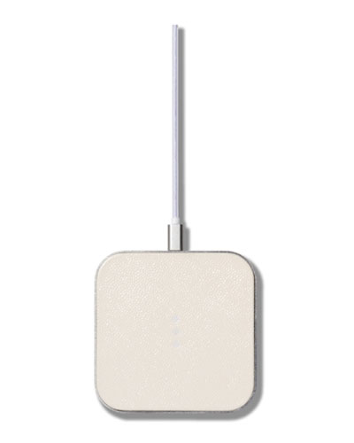 CATCH:1 Single Device Wireless Charger, Bone