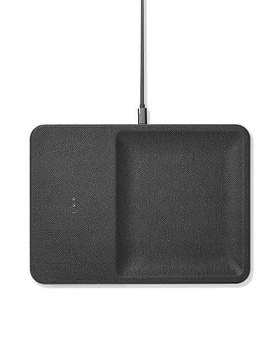CATCH:3 Single Device Wireless Charging Station w/ Accessory Organizer, Ash