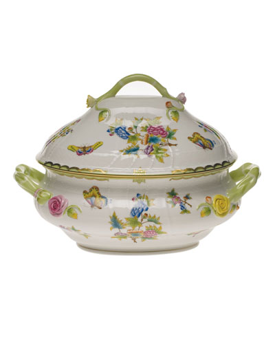 Queen Victoria Tureen with Branch Finial