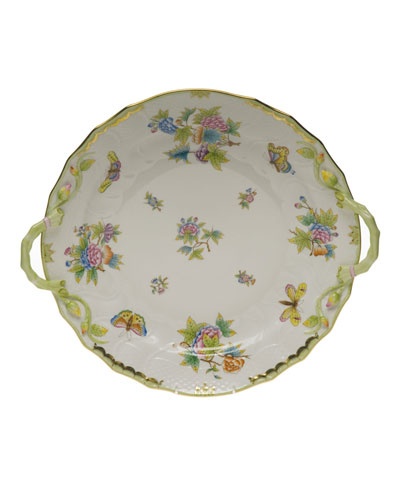 Queen Victoria Chop Plate with Handles