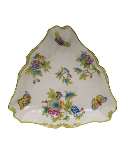 Queen Victoria Triangle Dish