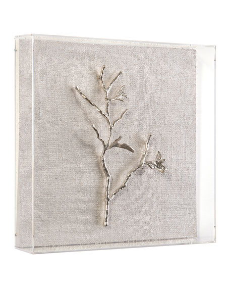 Silver Branches I-IV Wall Art