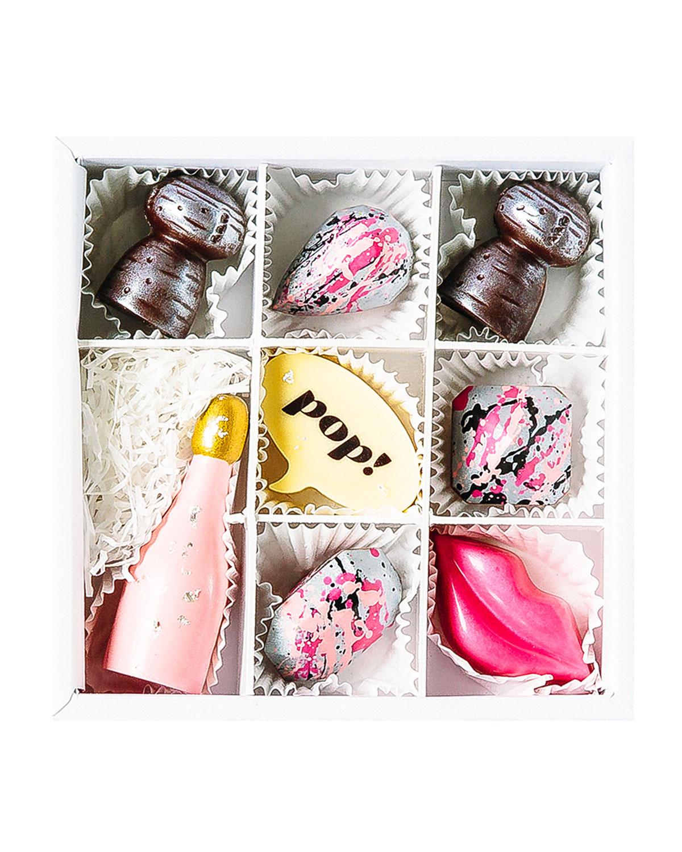 Pop Champagne Chocolate Gift Box
