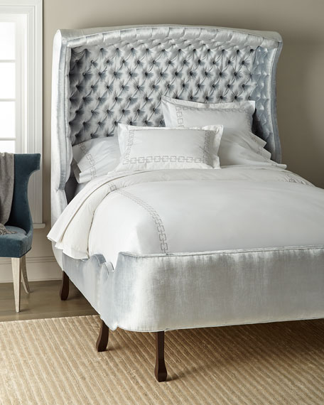 Haute House Arlo Hooded King Bed