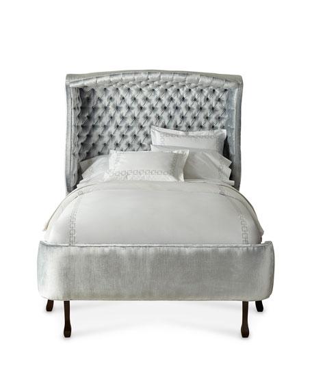 Haute House Arlo Hooded California King Bed