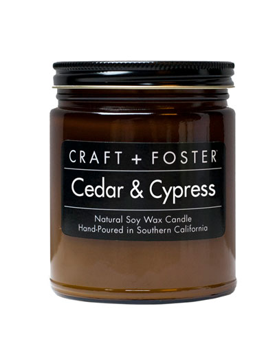 Cedar Cypress Candle  8 oz.