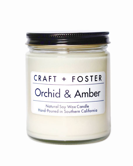Orchid & Amber, 8 oz./ 237 mL