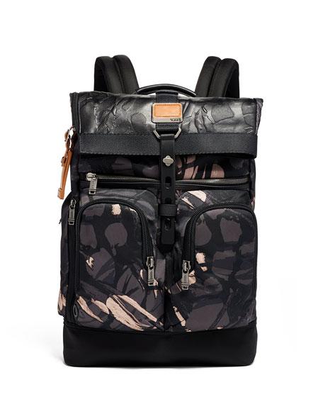Tumi Backpacks ALPHA 3 BRAVO LONDON ROLL TOP BACKPACK