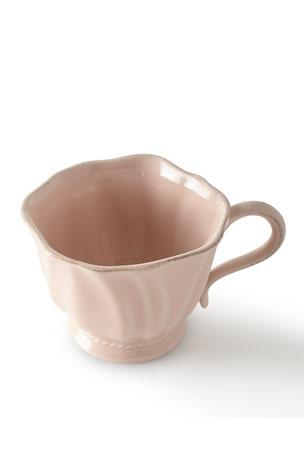 Juliska Madeleine Petal Pink Coffee/Tea Cup