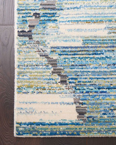 Storm Loom Woven Rug  5.6' x 8'