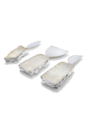 ANNA New York Kive Crystal Spreaders, Set of 3