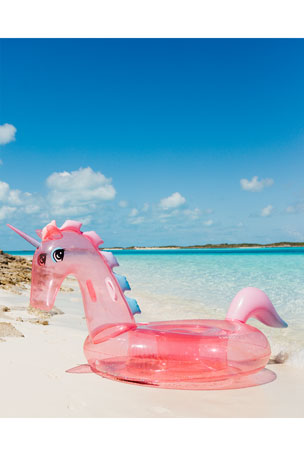 Funboy Glitter Unicorn Pool Float