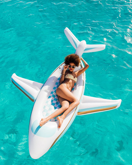 Funboy Private Jet Pool Float