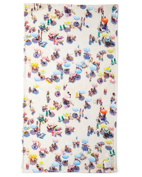 Gray Malin The Copacabana Beach Towel