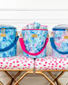 Lilly Pulitzer Kaleidoscope Coral Beach Cooler