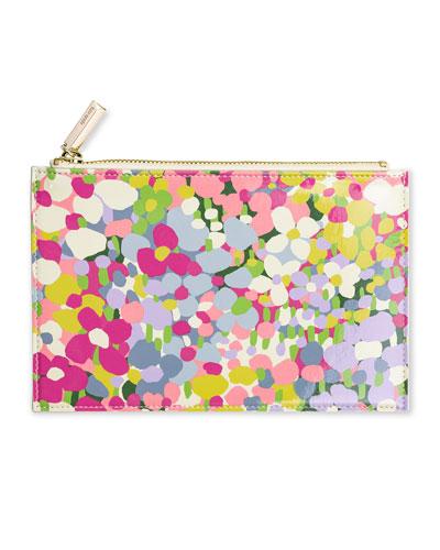 floral pencil pouch