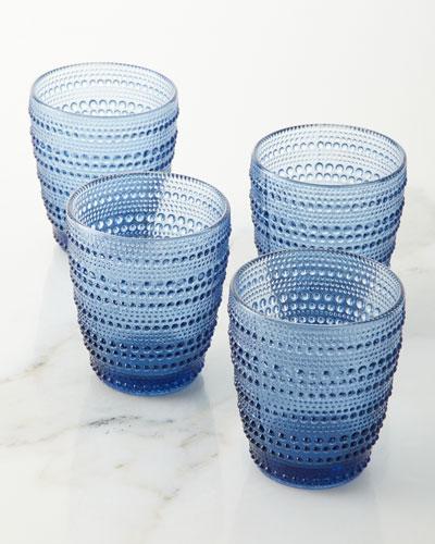 Lumina Double Old Fashioned Glasses, Set of 4
