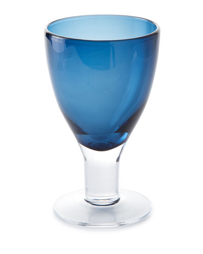 Galley Cobalt Goblets, Set of 4