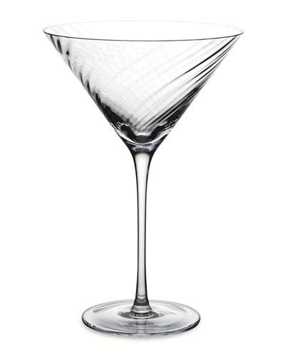 Twist Diamond Martini Glass