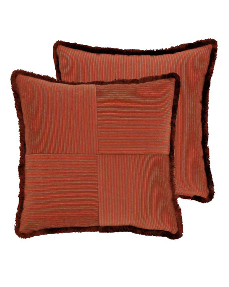 "Rose Tree Harrogate Decorative Pillow, 19""Sq."
