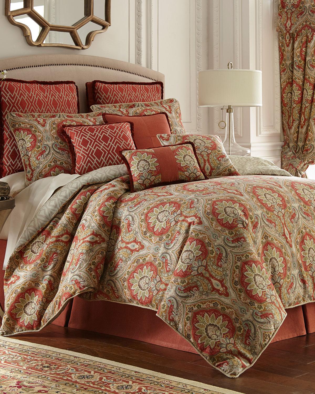 Rose Tree Harrogate Queen Comforter Set Neiman Marcus
