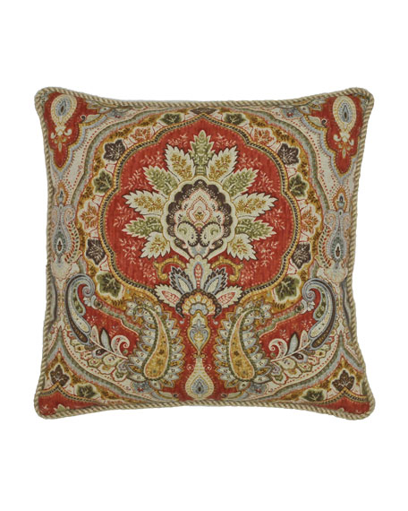 "Rose Tree Harrogate Decorative Pillow, 18""Sq."