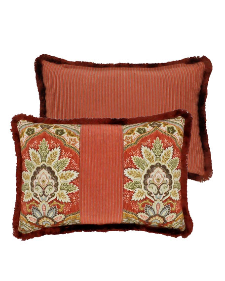 Rose Tree Harrogate Breakfast Pillow