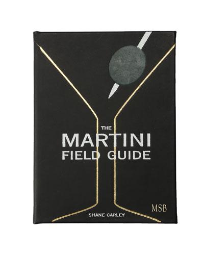 Martini Field Guide Book  Personalized