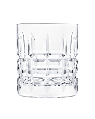 Manhattan Double Rock Glass