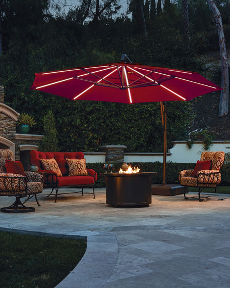 Treasure Garden Octagon AKZ Plus Outdoor Umbrella