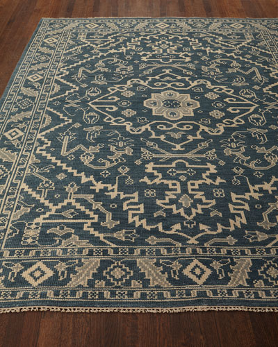 Shepard Hand-Knotted Rug, 7'6