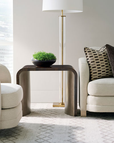 Streamline End Table