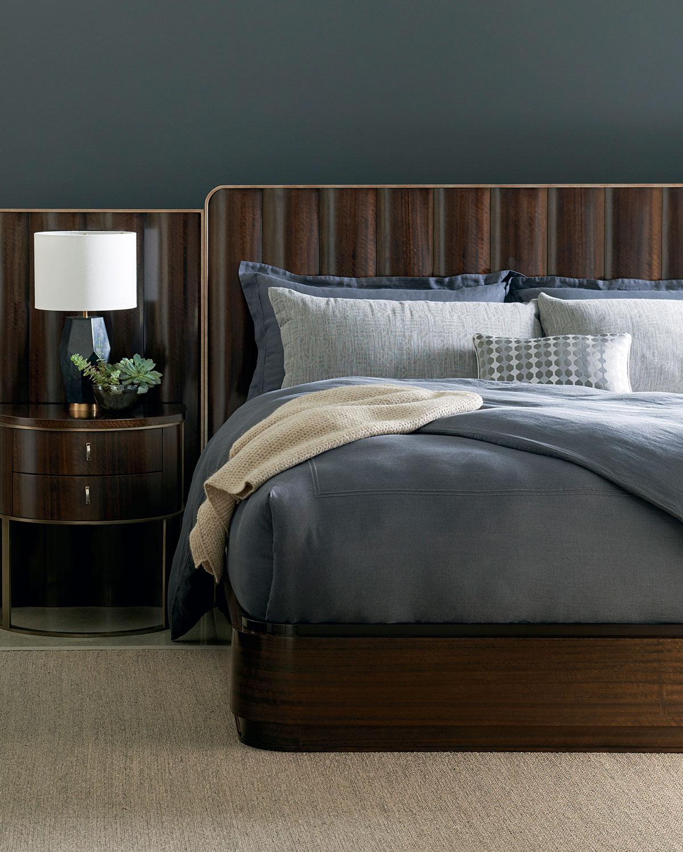 caracole streamline queen bed  neiman marcus
