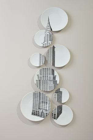 Manufacture de Longchamp depuis 1832 Chrysler Building Plate Set
