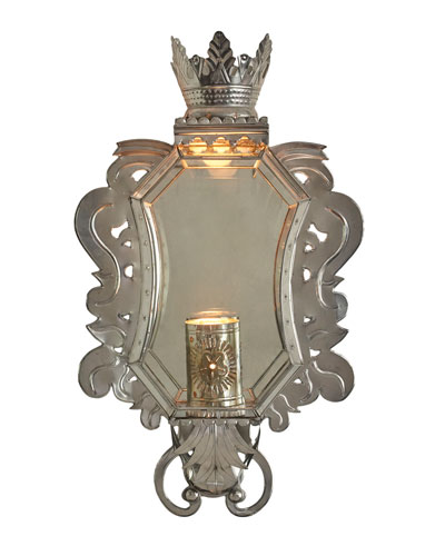 La Corona de Pared Sconce