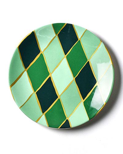 Emerald Series Diamond Salad Plate