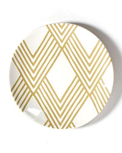 Woven Cobble Salad Plate