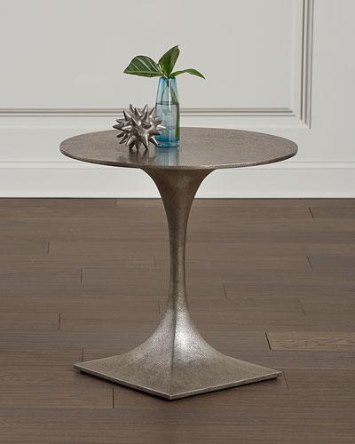 Randolph Slender Pedestal End Table