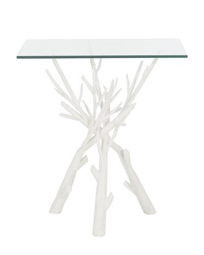 Marnie Faux Twig End Table